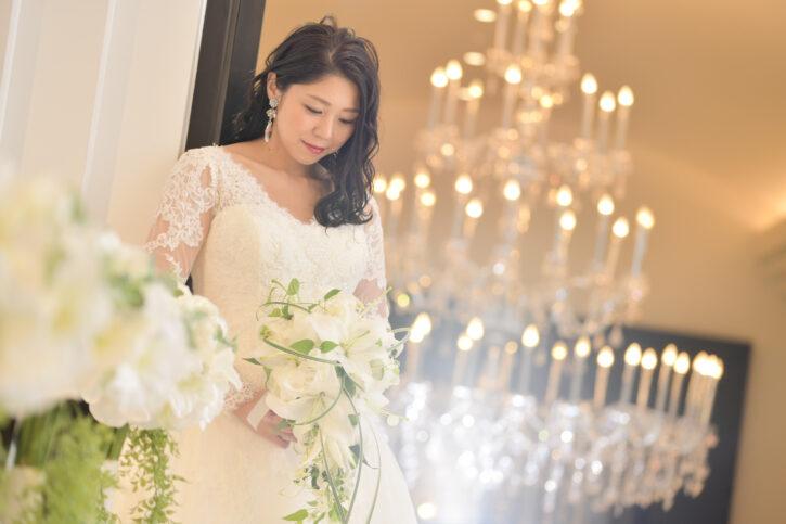 記憶の森 白ドレス チャペル